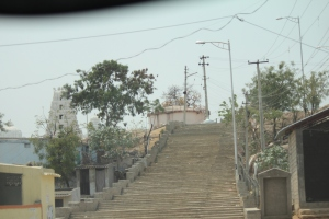 Steps leading to the temple